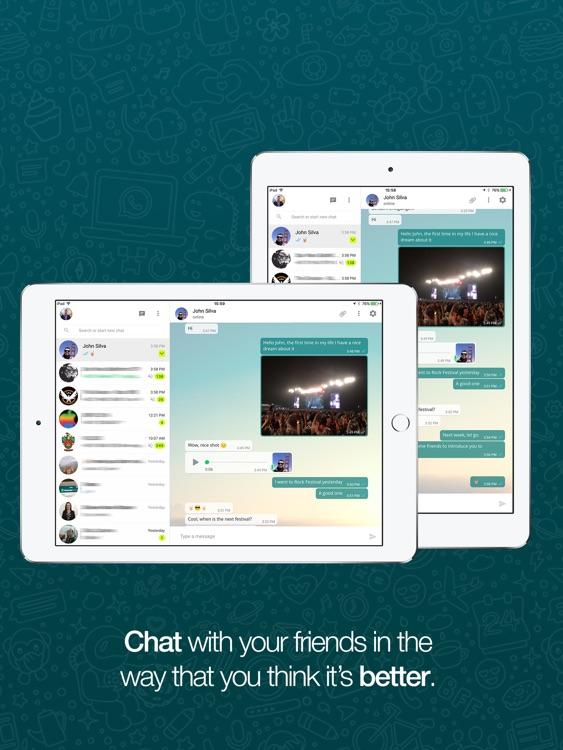 Messenger for WhatsApp Web screenshot-3