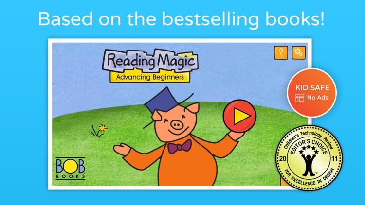 Bob Books #2 - Reading Magic HD screenshot-0