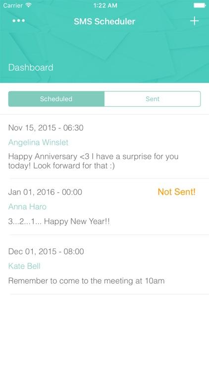 Simple SMS Scheduler - Auto Text Message Sending Timer screenshot-3
