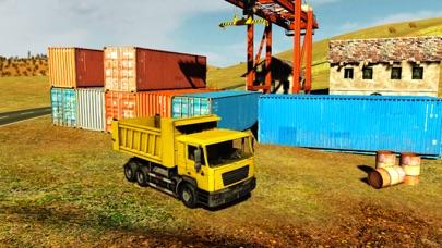 貨物4x4のオフロードトラックドライバーの交通シミュレータのおすすめ画像2