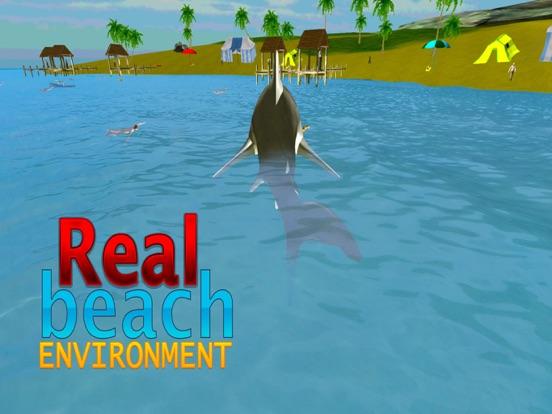 Crazy Shark Attack 3D - A hungry shark simulator-ipad-0