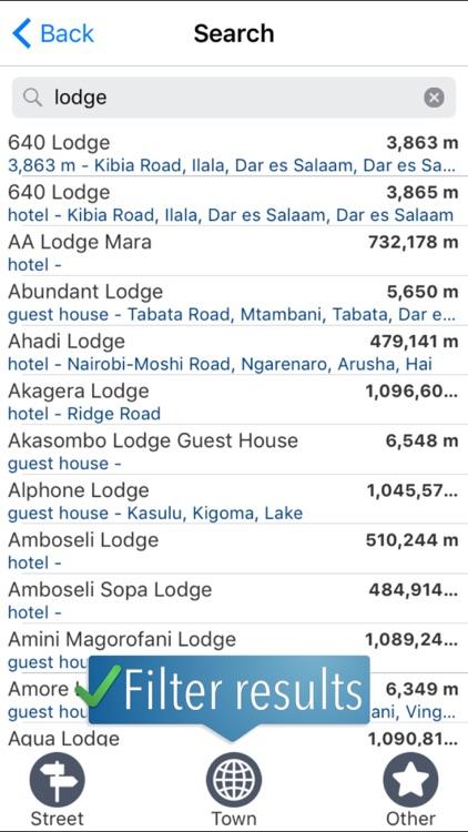 Tanzania Travelmapp screenshot-3
