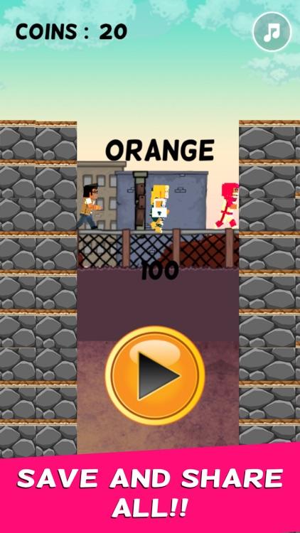 Cube Hero Ninja Skip Jump screenshot-3
