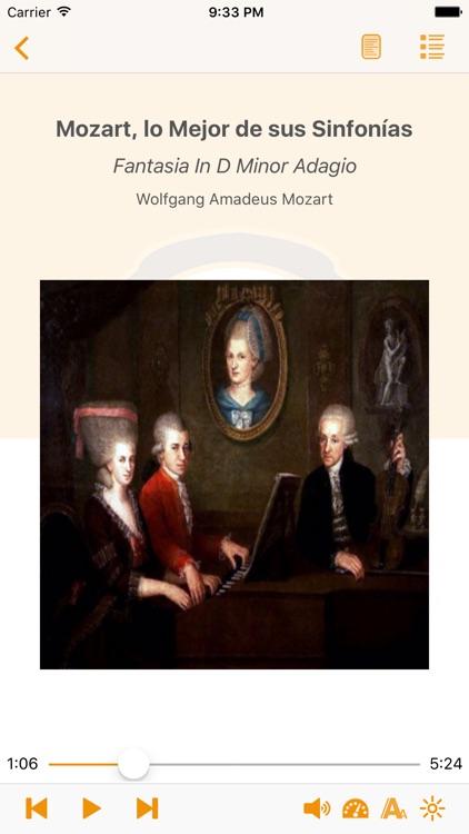 Mozart lo Mejor de sus Sinfonías - AudioEbook