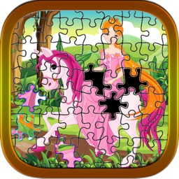 Educational learning (Princess) jigsaw puzzles games for toddler