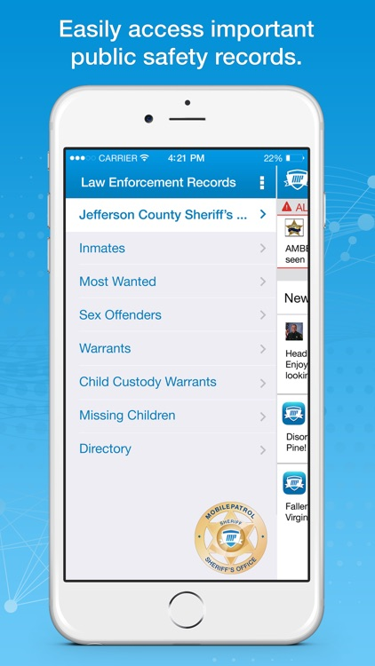 MobilePatrol: Public Safety