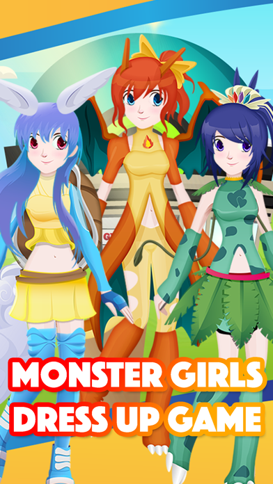 Go Anime Monster Girls Maker Dress-Up For Pokemon