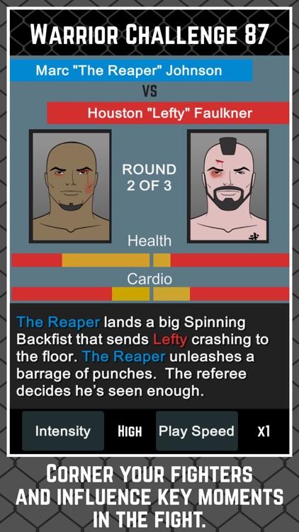 MMA Manager Free screenshot-0