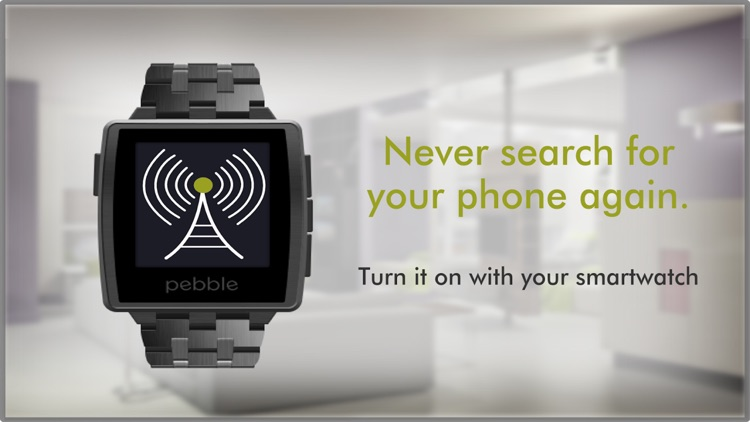 Find my Phone for Pebble Smartwatch screenshot-3