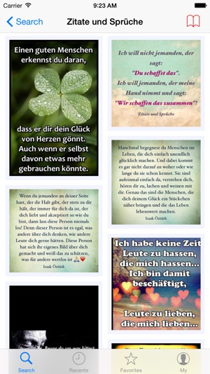 Sprüche, Zitate und Gedichte on the App Store