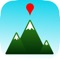 Identify mountain peaks using your iPhone or cellular enabled iPad