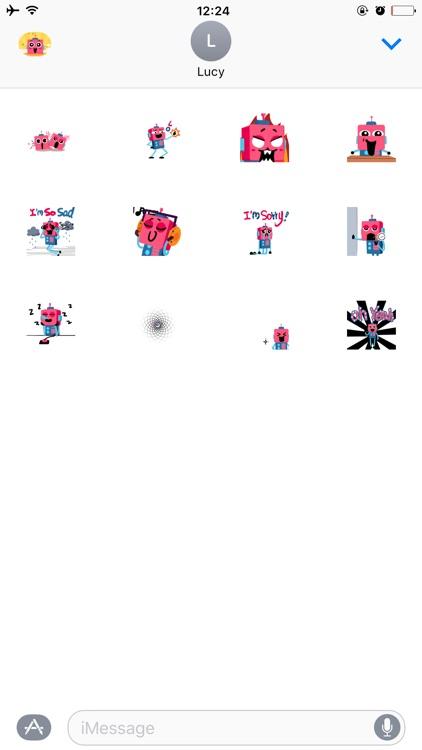 Robot Sticker for iMessage