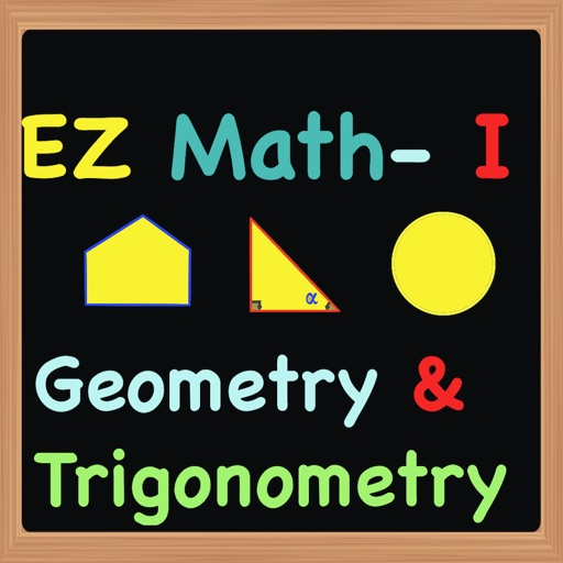 EZ Math for Middle School (Grades 5 to 8) Part 1 - Geometry & Trigonometry