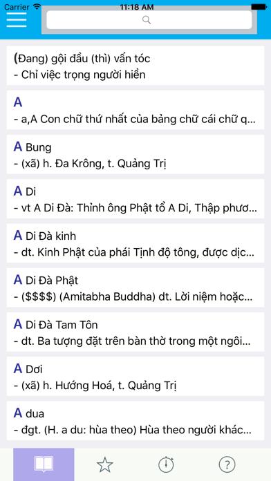 Từ Điển Tiếng Việt screenshot two