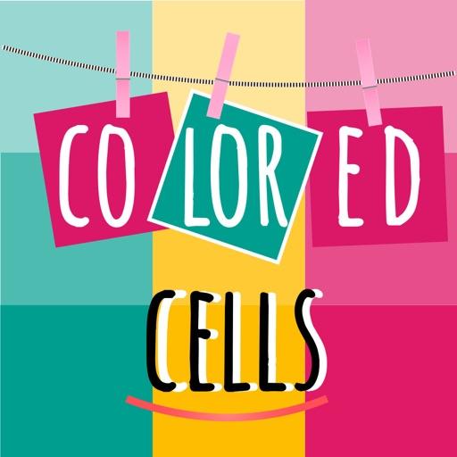 Colored Cells: Magic lines