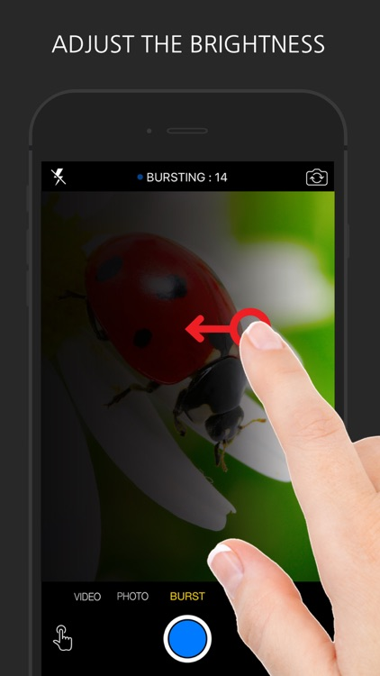 Touch Camera - Fast Recording and Burst