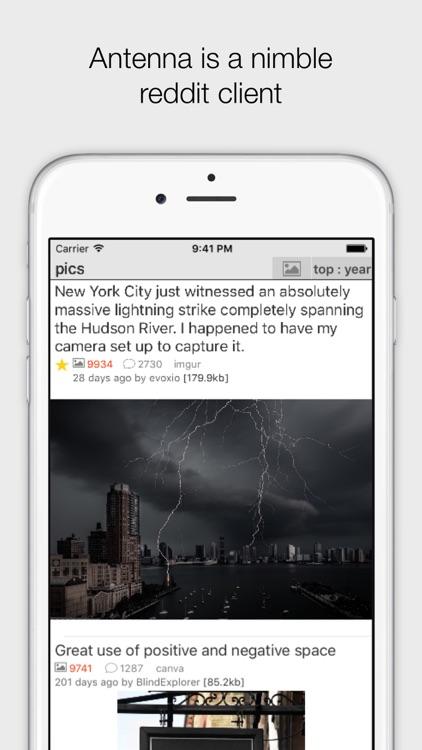 Antenna client for reddit screenshot-3