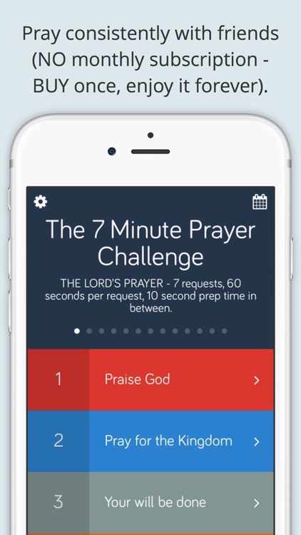 7 Minute Prayer Challenge screenshot-0