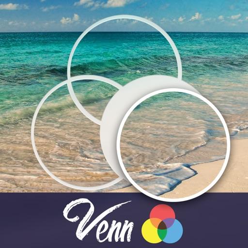 Venn Beaches: Overlapping Jigsaw Puzzles