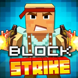 Pixel Block Strike 3D - Free sniper shooting games