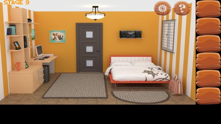 密室逃脱经典合集:逃出公寓房间系列4 - 史上最难的益智游戏