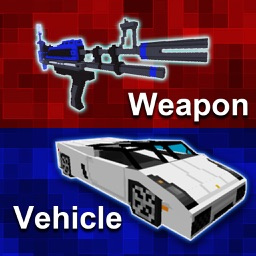 MC Vehicle & Weapon Mod Pro - Best Game Modifier for Minecraft PC Edition