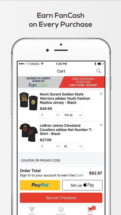 Fanatics – Shop for your Favorite Team Gear screenshot-4