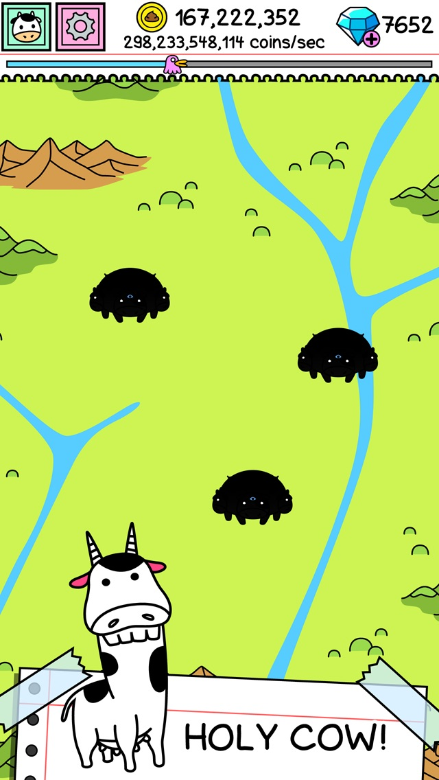 Download Cow Evolution | Mutant Koeien App