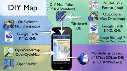 やまやまGPS (登山、渓流釣り、MTB用地図) ScreenShot2