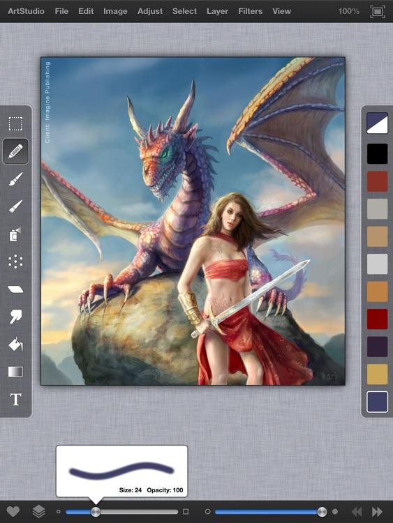 ArtStudio for iPad - Draw Sketch and Paint screenshot-0