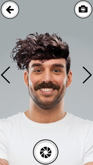 Men HairStyle Pic Editor Beard & Mustache Stickers on the App Store