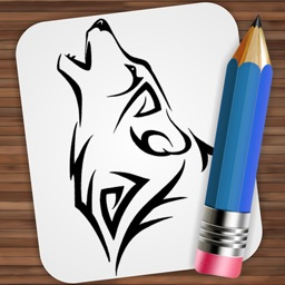 Drawing Tattoo Wolves