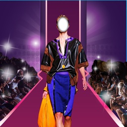 Runway Model Photo Montage – Become A Top Model With Image Edit.or & Fashion Virtual Sticker.s