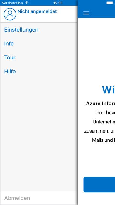 Azure Information ProtectionScreenshot von 2