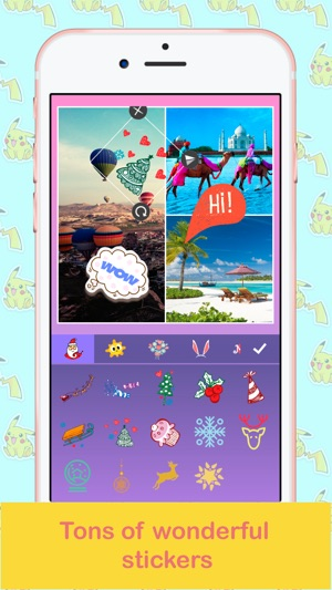 Pic Collage Maker - Foto Editor, Photo Grid Free Screenshot