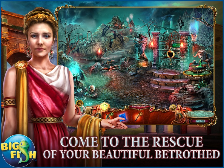 Dark Romance: Kingdom of Death HD - A Hidden Object Adventure (Full) screenshot-0