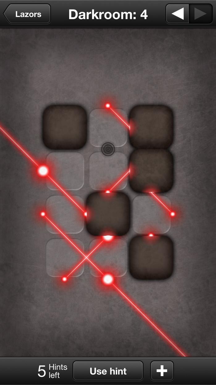 Lazors Screenshot