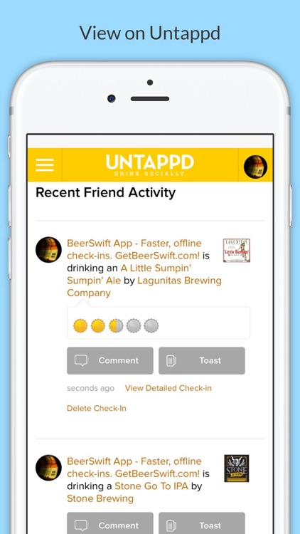 BeerSwift: Faster & Offline Check-Ins for Untappd screenshot-4