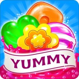 Sweet Crush Mania - 3 match puzzle Yummy Cookie Blast