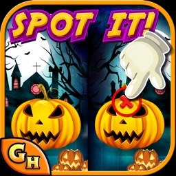 Spot the Objects:Halloween Hunted & Hidden Secret