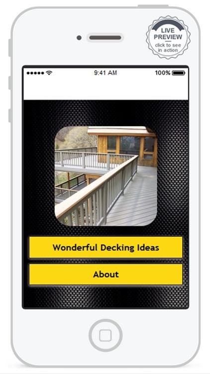 Wonderful Decking Idea.s