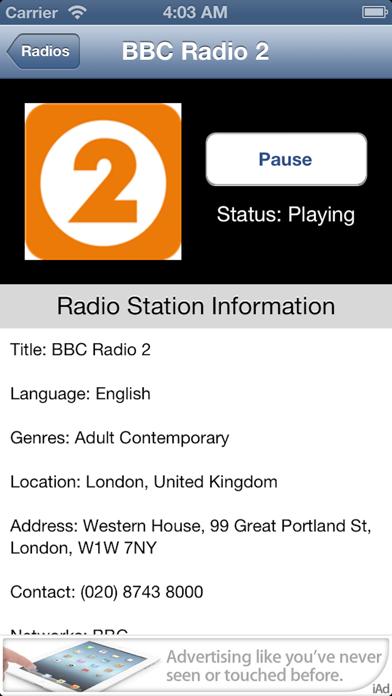 UK Radio Live (United Kingdom) screenshot two