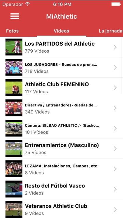"Miathletic - ""for Athletic Club de Bilbao fans"" screenshot-3"