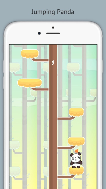 Jumping Panda-Tree Climbers screenshot-3
