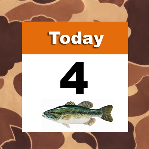 Isolunar hunting fishing times by redsnake enterprises llc for Solunar table hunting and fishing