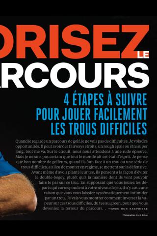 Golf Digest France - náhled