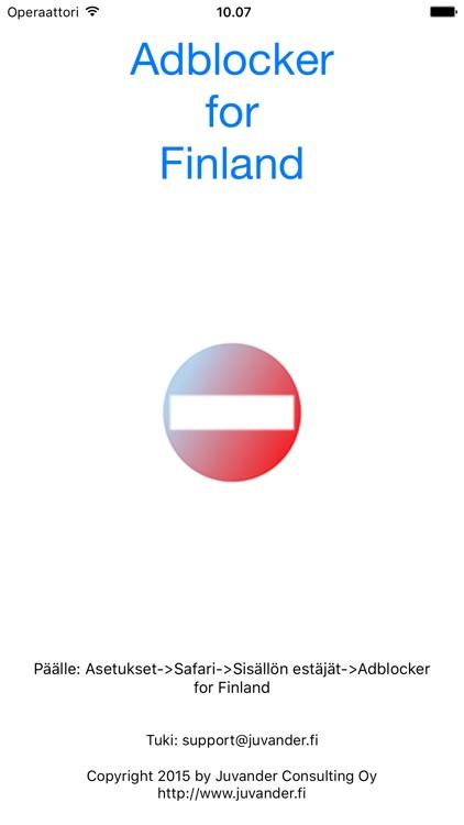 Adblocker for Finland