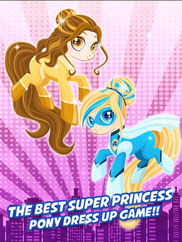 Супер Пони Hero Girl - Моя маленькая принцесса Пони одеваются игры бесплатно для iPad