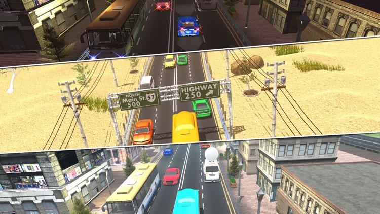 Endless Traffic Highway Racer screenshot-3