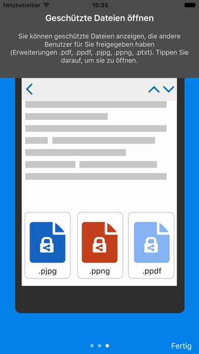 Azure Information ProtectionScreenshot von 5